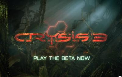 Crysis 3 Beta 公測開始,硬體大屠殺來了,你的顯卡、CPU 能跑嗎?