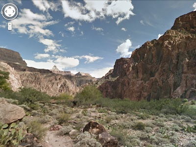 Google 街景背包冒險拍攝成果上線,讓你暢遊美國大峽谷國家公園
