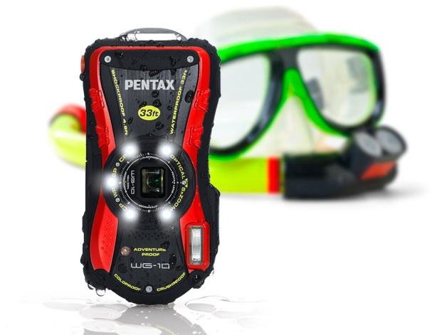 Pentax WG-3 / WG-3 GPS、WG-10發表,強悍水中相機、萬元有找