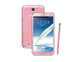 Samsung GALAXY Note 2 再添新色,櫻花粉預計 2 月底開賣
