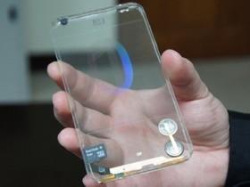 台灣製造!首款透明智慧型手機現身,正反面都能觸控