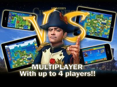 iOS版《Sid Meier's Civilization® Revolution™(文明帝國:革新)》App即日起提供多人遊戲模式等新內容