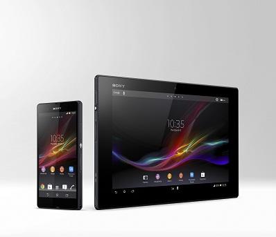Sony宣布 Xperia™ Tablet Z  世界最輕薄的10吋平板電腦將於全球發售