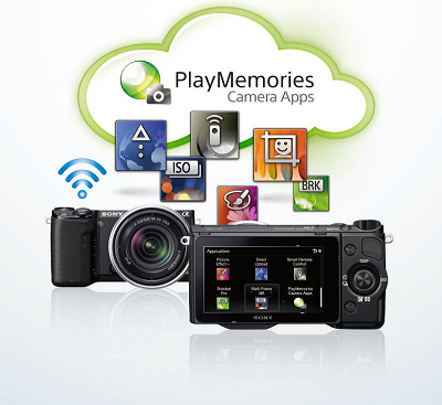 PlayMemories Camera Apps應用程式下載服務輕鬆玩
