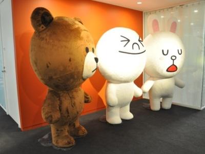 參訪 LINE 東京新總部,除了多到不行的 LINE 娃娃,還有神秘配備