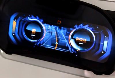 Nvidia 展示未來的汽車儀表板,基於 Android 而且還能換佈景