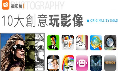 9款多彩、多變、搞怪攝影 App,讓你大膽玩創意