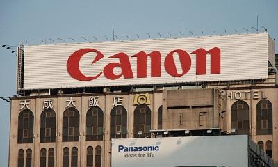 Canon建立第三座全LED環保企業標誌 貫徹綠色企業精神 斥資千萬矗立台北火車站旁  串聯綠能之光完成環保里程碑