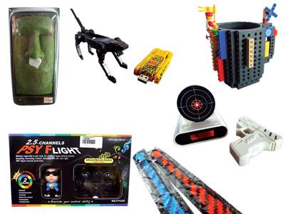 T小編挖寶:DIY 樂高馬克杯、射擊才能停止的鬧鐘…更多趣味商品大集合
