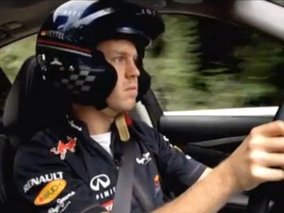 [影片]Sebastian Vettel任命 Infiniti性能研發部主任