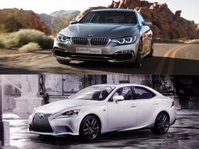 BMW 4 Series & Lexus IS:運動風采正流行