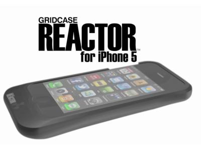 iPhone 5 沒電新救星,用手搖發電背蓋取代行動電源