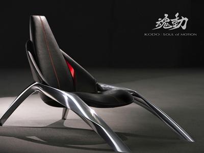 MAZDA於米蘭設計週推出魂動概念設計座椅