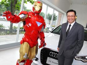 台灣奧迪汽車推出限量「Audi A6 科技躍進版」鋼鐵人指定座駕