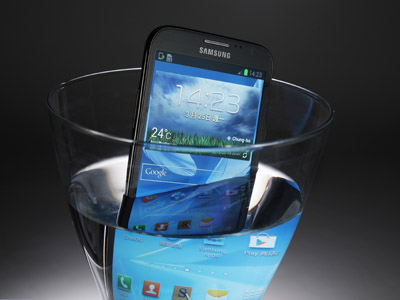 Liquipel Watersafe 真空處理,你的手機現在也能防水了!
