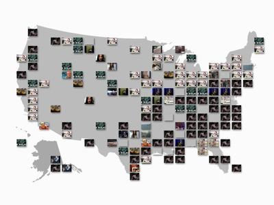 YouTube 啟用 Trends Map 服務,用地圖找出最熱門影片