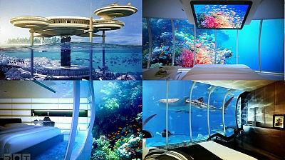 杜拜將建造飛碟形狀的海中旅館,讓你一覽無遺美麗的海底世界