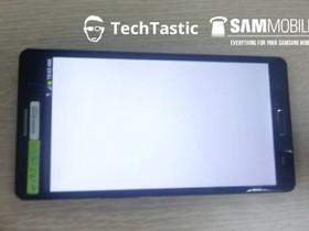 少了金屬機身設計,Samsung GALAXY Note 3 工程樣機曝光
