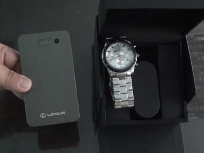 【得獎公佈】Lexus 行動電源、瑞士機芯防水石英錶,價值一萬五大放送【T好康第 221檔】