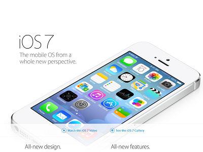 開發商表示 iOS 7 使用率高於 iOS 5,Android 該汗顏了