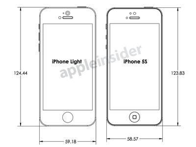Apple 設計圖流出,揭露低價版 iPhone 和 iPhone 5S 外型