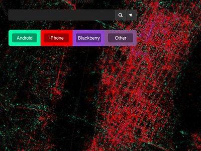 整合 2.8 億則訊息 Twitter 全球地圖,一窺手機用戶的發文習慣與位置