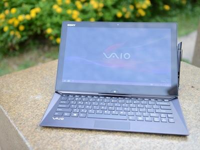 Sony VAIO Duo 13 評測:觸、鍵、寫,全能滑蓋筆電