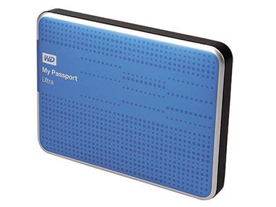 WD My Passport Ultra:1TB 大肚量薄型外接硬碟