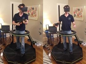 Omni 跑步機,讓使用者在虛擬世界中體驗真實