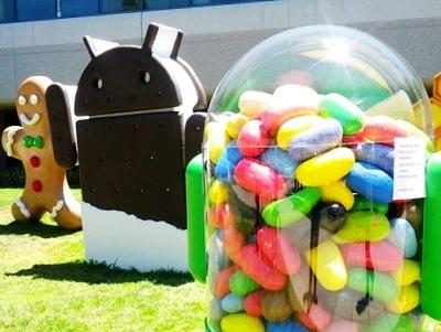 Jelly Bean 打敗 Gingerbread ,成 Android 市場佔有率第一名