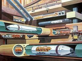 Hyperloop 時速6437公里,把乘客裝入「炮彈」發射到目的地