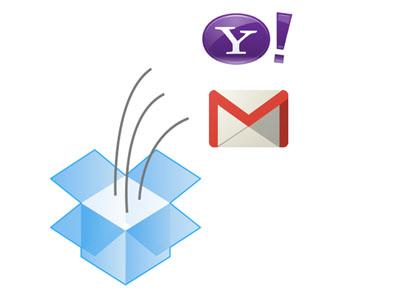Dropbox 整合網路信箱,輕鬆打包大附件