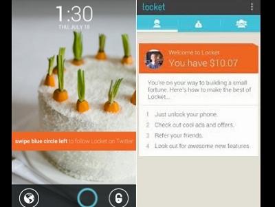 每次開啟螢幕都能賺1美分,願意讓 Locket 在你的手機鎖定畫面放廣告嗎?