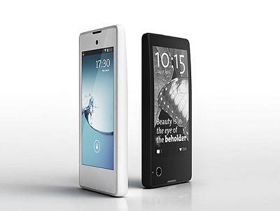一面是 LCD 螢幕,另一面是 E-ink 螢幕的雙螢幕手機 YotaPhone