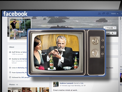 Zuckerberg繼續向廣告「妥協」,Facebook可能在「動態消息」中推出電視廣告