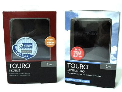 方便攜帶的1 TB大容量!HGST TOURO MOBILE / MOBILE PRO USB3.0 1TB 2.5吋行動硬碟