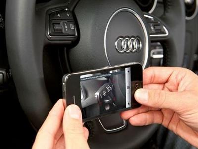 汽車儀錶按鈕很複雜?快用手機 AR 擴增實境告訴你是什麼功能