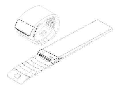 Samsung 智慧型手錶 Galaxy Gear 配備 Webcam 和喇叭,不過這次沒有準備SIM卡插槽了