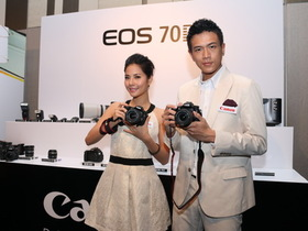 Canon EOS 70D 台灣發表、單機身 32,900元,19點全十字對焦、LiveView對焦大幅提升