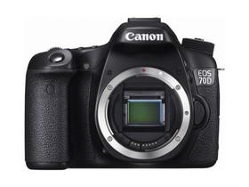 Canon EOS 70D震撼登場 革命性技術創新 搶攻中階單眼相機市場 規格改款大升級! 限量首購禮加送原廠電池及記憶卡