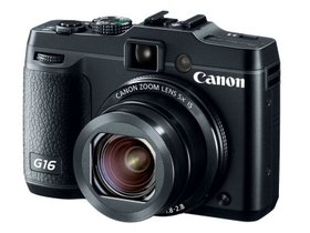 Canon Powershot G16 大光圈再出擊 ,內建 Wi-Fi 與社群網站連線