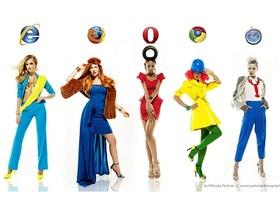 把瀏覽器穿在身上!世界5大Browser奇特衣著設計,展現各公司設計風格