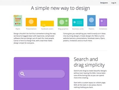 線上圖形設計平台 Canva 上線,提供100萬張圖片字體素材、簡單拖拉拽製作海報 | T客邦