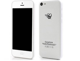 山寨 iPhone 5C:Goophone  i5C 準備好了
