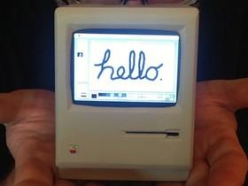 親愛的,我把 Macintosh 變小了