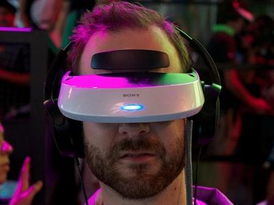 傳 Sony 將推出類 Oculus Rift 虛擬實境頭戴式設備