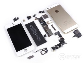 iPhone 5s 的拆解秀,全部看光光