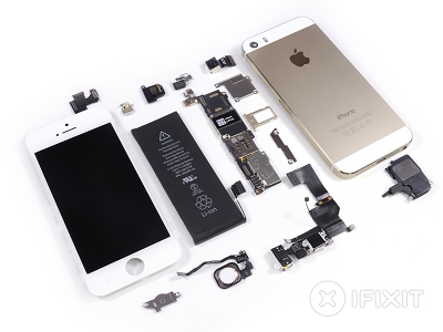 iPhone 5s 的拆解秀,全部看光光 | T客邦