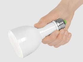 Bulb Flashlight:是燈泡也是手電筒的聰明設計