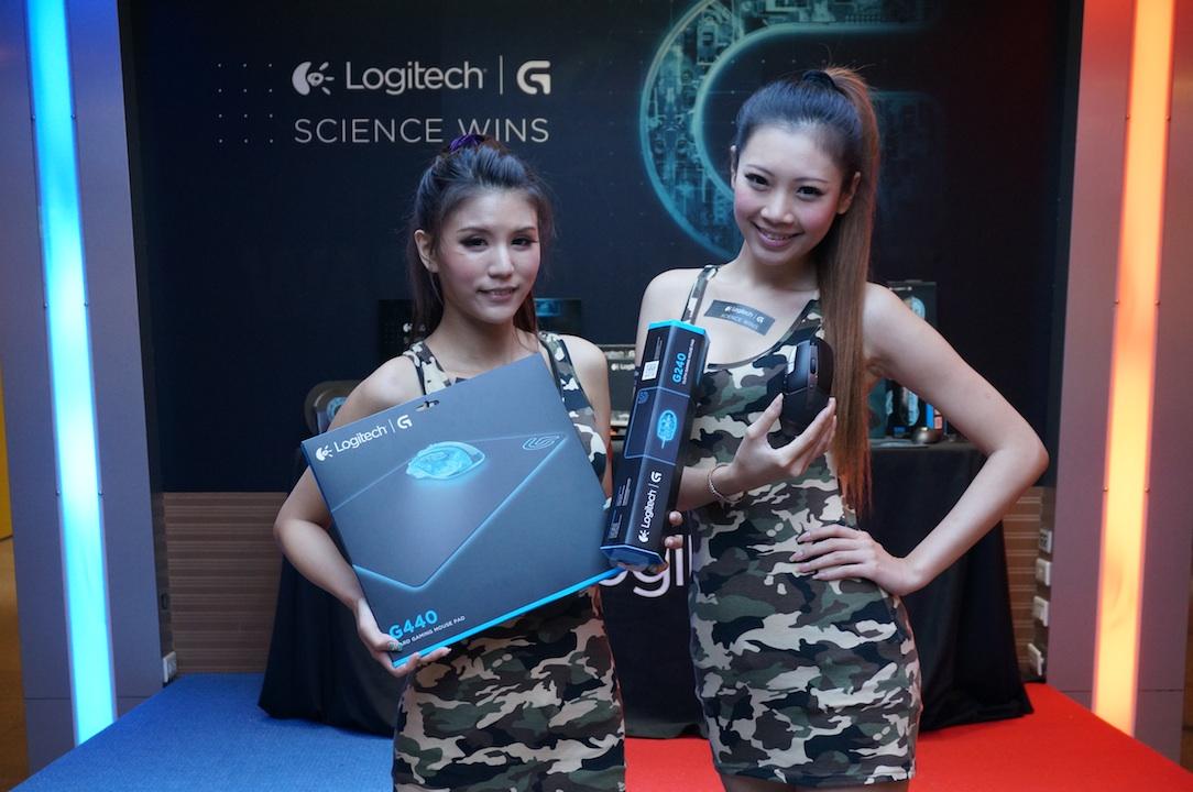 羅技推出 250 小時持久電力 G602 無線遊戲滑鼠,G440、G240 遊戲專用鼠墊